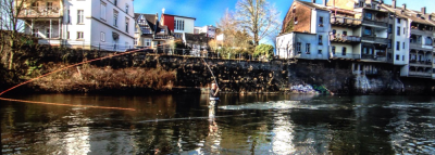 Juergen fishing the Barrio SLX in Germany