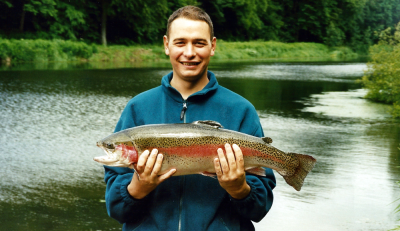 Another Blast From The Past ... Chris Mcallister with a nice Haddo trout