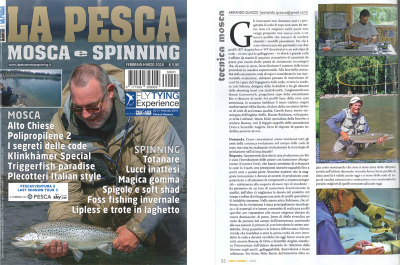 Italian Fishing Magazine Interview