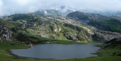 Lago Ercilla, near Covadonga, Spain