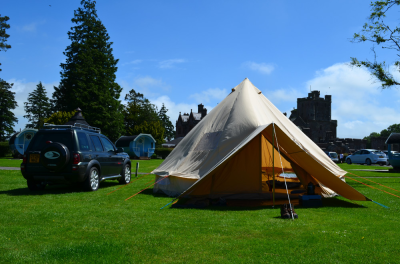 Force Ten & Bell Tent Camping at Hoddom Castle
