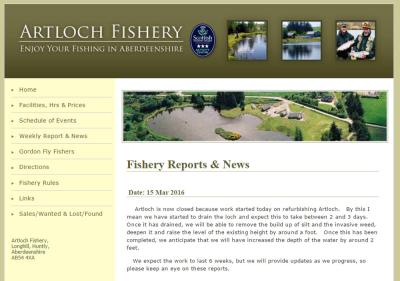 Artloch Trout Fishery