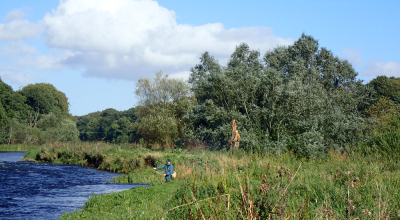 Brian on the Don in late September