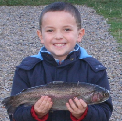 Nicky's First Trout