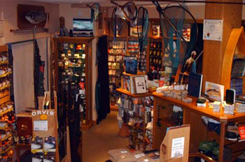Orvis tackle shop at Banchory