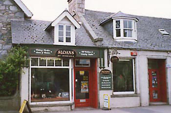 Sloans Tackle Shop at Inverurie