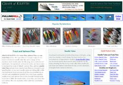Screenshot of the Grays of Kilsyth website