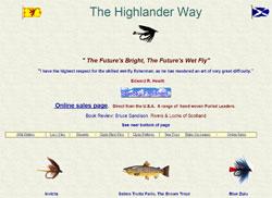 Screenshot of the Highlander Way website