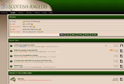 Screenshot of The Scottish Anglers Website