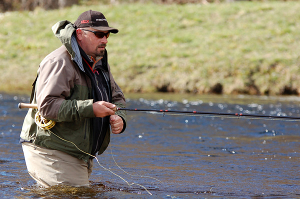Hamish Young Fly Fishing Tuition and Guiding