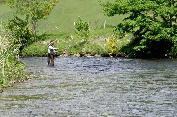 Mike Barrio fishing the River Don